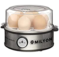 3 Boiling Modes - The advanced appliance from Milton, by Hydro Valves allows you to boil eggs in 3 different modes - Hard, Medium and Soft. Automatic Shut Off - The machine will turn off automatically when the eggs are boiled Before switching on the ...