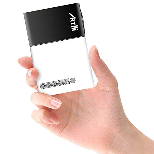 Mini Proyector Porttil Mvil- Artlii Mobile Projector LED,Batera...
