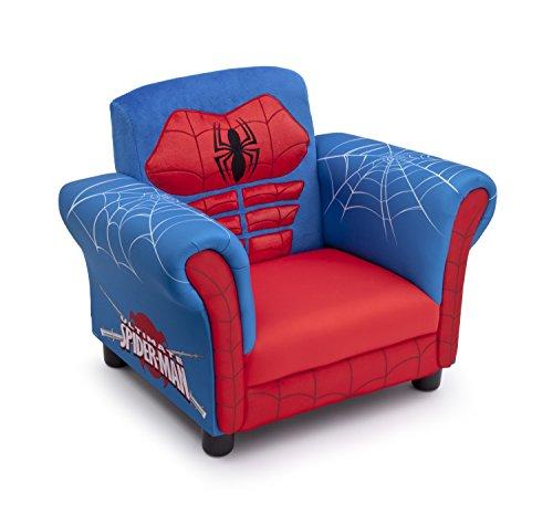 Delta Children Figural Upholstered Chair, Marvel Spider-Man