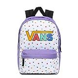 Vans Girls Realm Backpack, Mochila para Niñas, Dahlia Púrpura, OS