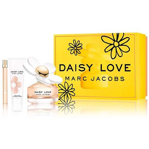 Marc Jacobs Marc jacobs daisy love set: 3.4 oz eau de toilette spray + 2.5 oz body lotion + 10ml eau de toilette, 3.4 Fl Oz