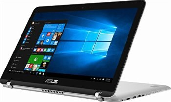 """2018 Asus 360 Flip 2-in-1 15.6"""" FHD IPS Touchscreen Laptop, Intel Core i5-7200U up to 3.1GHz, 12GB DDR4, 1TB HDD, 802.11ac, Bluetooth, Webcam, HDMI, Type-C USB, Backlit Keyboard"""
