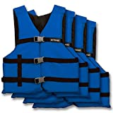 Airhead Adult General Purpose Life Jacket-4 Pack, Blue (10002-25-A-BL)