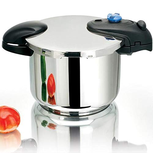 Kitchen Move Illico - Pentola a pressione, Acciaio Inox 18/8 Acciaio INOX, 8 L  24 cm