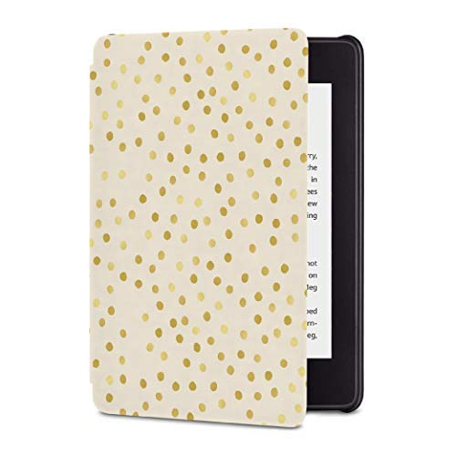 All-New Kindle Paperwhite Waterproof Leather Cover, Slim Fit Smart Case with Auto Sleep/Wake —for All-New Kindle Paperwhite Released in 2018 only (10th Generation) - New Kindle Covers