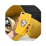 Funny Cute Cartoon Lazy Cat Giraffe Panda Phone Cases for iPhone 7 8 Plus 6 6s Case Bear Pig Cover for iPhone X XR XS MAX Case,Cute Pig,for iPhone 8