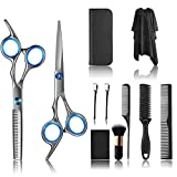 11 PCS Hair Cutting Scissors,...