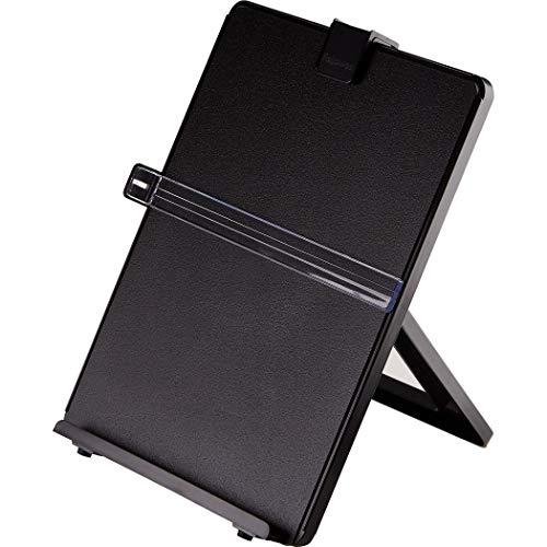 Fellowes Workstation Konzepthalter hält bis zu 125 Blatt schwarz