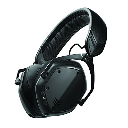 V-MODA Crossfade 2 Wireless Casque Audio Supra-auriculaire sans Fil – Noir Mat