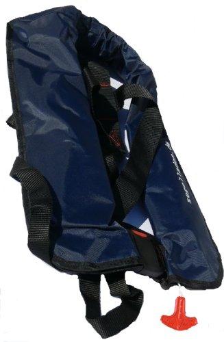 Vollautomatische Rettungsweste Schwimmweste in dunkelblau 150 N