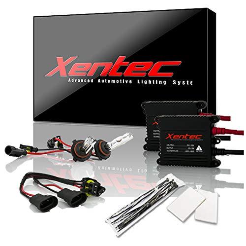 Xentec 9006 (HB4) 5000K HID xenon bulb x 1 pair bundle with 35W Digital Slim Ballast x 2 (Ivory White)