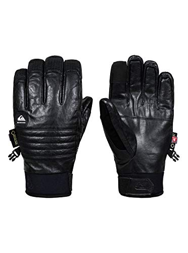 Quiksilver Uomo Guanti da snowboard Tr Gore Glove (Black), Gre:L