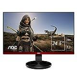 AOC G2590FX 25' Framless Gaming Monitor, FHD 1920x1080, 1ms, 144Hz, G-SYNC Compatible+AdaptiveSync,...
