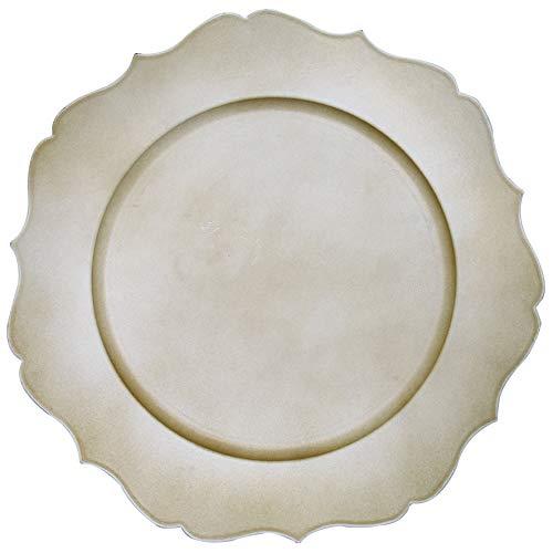 Sousplat Versalhes Mimo Style Off White