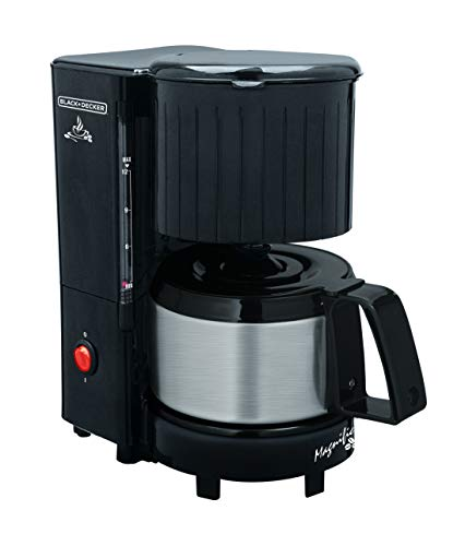 BLACK + DECKER Coffee Maker 12 Coffees with Vase CM12-B2