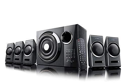 F&D F3000X 80W 5.1 Bluetooth Multimedia Speaker - Black