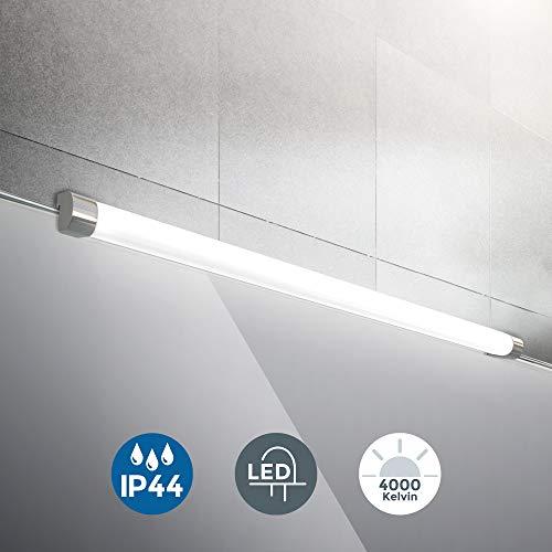 LED Spiegelleuchte   inkl. 10W 1200lm LED Platine   Spiegelaufsatzleuchte 57,2 cm   IP44   4000K neutralweiss   Wandlampe
