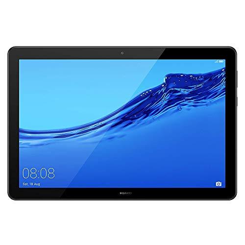 HUAWEI MediaPad T5 Wi-Fi Tablette Tactile 10.1' (32Go, 2Go de RAM, Android 8.0, Bluetooth, 2 haut-parleurs), Noir