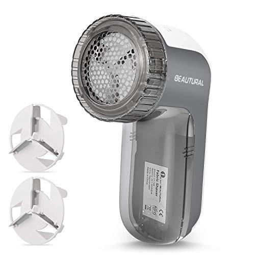 Beautural Quitapelusas eléctrico,9000R per Min, 3 Alturas de Afeitado,3 tamaños de...