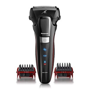 Panasonic Hybrid Wet Dry Shaver, Trimmer & Detailer with Two Adjustable Trim Attachments, Pop-up...