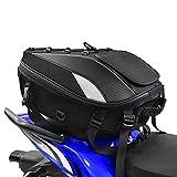 Motorcycle Seat Tail Bag Backpack Dual Use Motorcycle Waterproof Helmet Bag