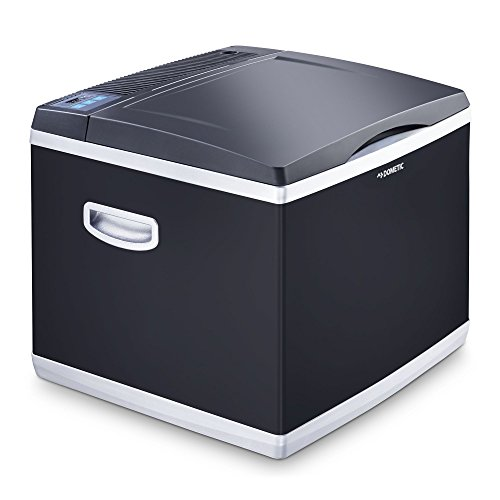 DOMETIC CoolFun CK 40D Hybrid - Thermo Electric/Compressor Cooler / Freezer for Normal and Deep Cooling, 38Litre Capacity, Mini Fridge for Car, Truck, Boat, Motorhome and Power Socket