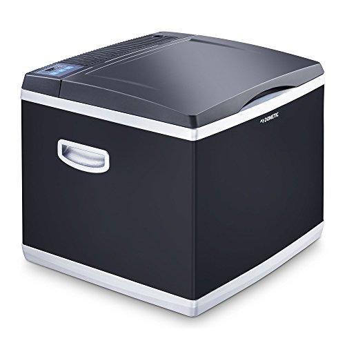 Mobicool CK 40D, Hybrid, tragbare Kompressor- thermoelektrische-Kühlbox/Gefrierbox, 38 Liter, 12 V und 230 V für Auto, Lkw, Steckdose