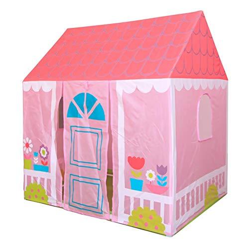 Alomejor Kid Spielzelt Spielhaus Tragbare Gartenhaus Spielhaus Indoor und Outdoor Spielzeug Zelt für Jungen Mädchen Baby Kleinkind