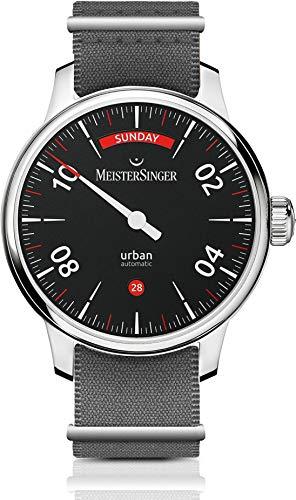 MeisterSinger Urban Day Date URDD902 Einzeiger Automatikuhr