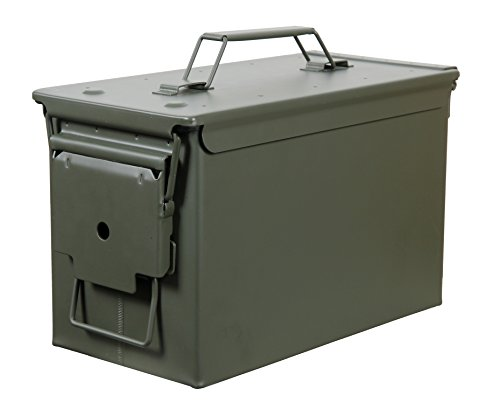Fortress 50 Caliber Metal Ammo Can, 50...