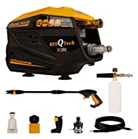 ULTRA POWERFUL CLEANING FORCE : Powerful 2000 Watt 100% Copper Winding INDUCTION motor generates up to 140 bar /6.4lit/min for maximum cleaning power. perfect for decks, cement walls, pavement, pools, outdoor furniture, cars, trucks, garbage cans, an...