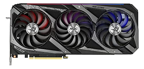 ASUS ROG Strix NVIDIA GeForce RTX 3070 Ti - Tarjeta gráfica Gaming (PCIe 4.0, 8 GB GDDR6X, HDMI 2.1, DP 1.4a, Axial-Tech, diseño de 2,9 Ranuras, Super Alloy Power II, GPU Tweak II)