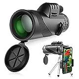 Telescopio Monoculare, innislink 40x60 HD Zoom Cannocchiale Telescope portatile con adattatore e treppiede Telescopio Monocolo per il Bird Watching
