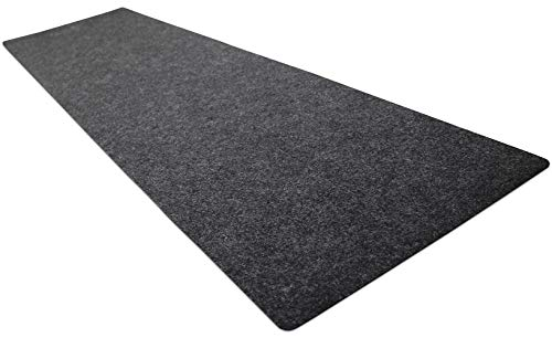 Drymate Gun Cleaning Pad (16' x 59'), Premium Gun Cleaning Mat - Absorbent/Waterproof/Durable - Protects Surfaces, Contains Liquids - (Made in The USA) (Charcoal)
