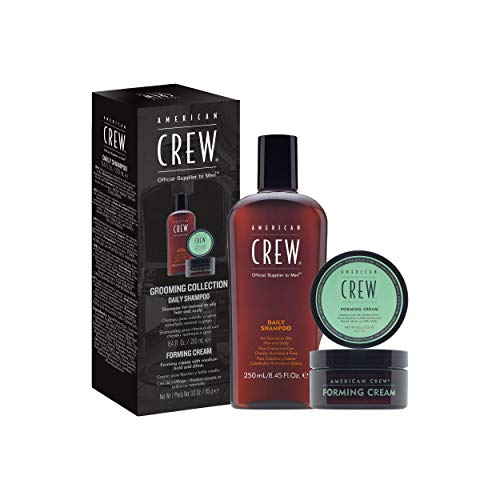 AMERICAN CREW Forming Cream and Daily Shampoo Men's Gift Set