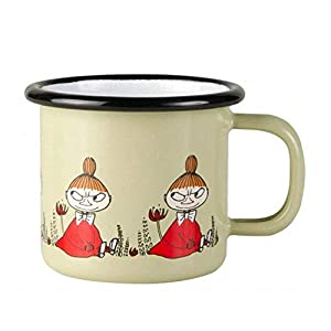 "Combining design with durability in this retro mug Features Moomin Friends from the beloved Finnish fairytale Moomin series Approximate SIze: 6.5cm (dia) x 6cm(h)/2.5"" x 2.25"" Dishwasher safe"