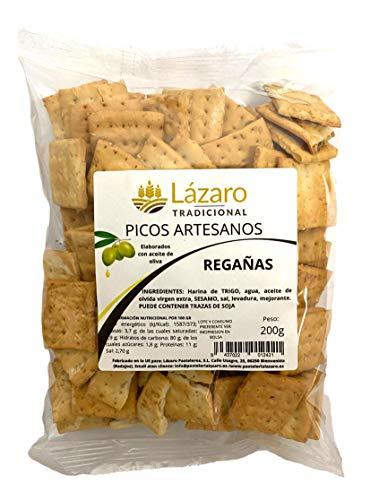 Lázaro Regañas Artesanas 200G, Picos de Pan Artesanos Elab