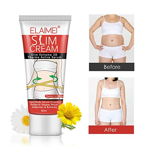 Hot Cream, Slimming Cellulite Firming Cream, Body Fat Burning building Massage Gel Weight Losing for Shaping Waist, Abdomen and Buttocks - 60ml 5