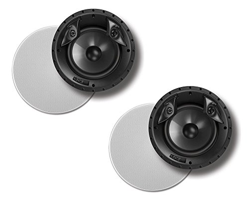 Polk Audio 80F/X-Ls High Performance in-Ceiling Surround Loudspeaker with Dual Tweeters and 8' Driver
