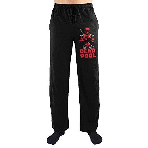Marvel Comics Deadpool Costume Print Men's Lounge Pants X-Large