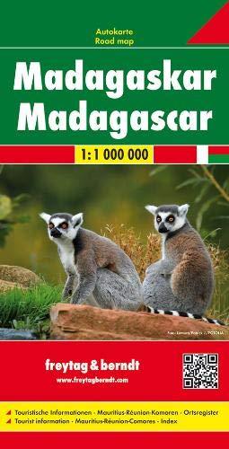 Madagascar, mapa de cerreteras. Escala 1:.000.000. Freytag & Berndt.: Wegenkaart 1:800 000