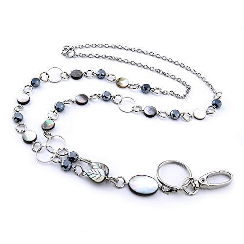 LUXIANDA Elegance Badge Lanyards ID Necklaces ID Badge Holder for,Nurses...