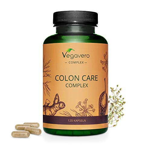 Colon Care Complex Vegavero® | Detox + Digestión + Limpiez
