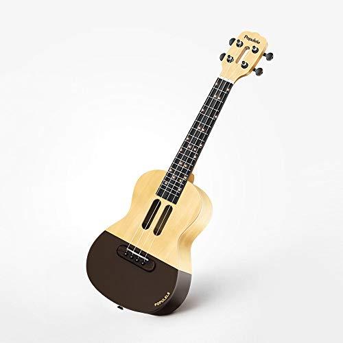 Cerobit Xiaomi Youpin Populele U1 Intelligent Ukulele 4 Strings 23in Acoustic Electric Ukulele LED Lamp Beads Little Guitar