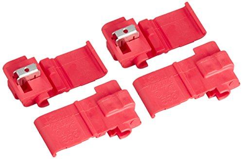 エーモン 配線コネクター(赤) DC12V140W以下/DC24V280W以下 4個入 M280