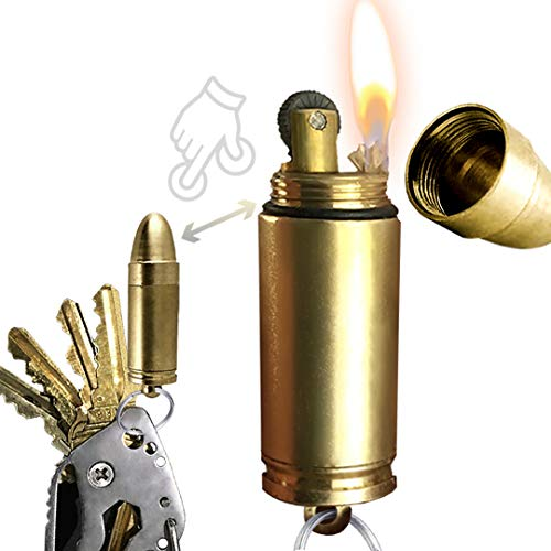 OPG3 Bullet Lighter Keychain - EDC...