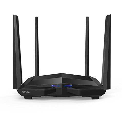 Tenda AC10U Gigabit Router Wi-Fi Dual Band AC1200...