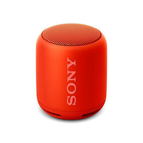 Sony SRS-XB10, Altavoz Inalámbrico Portátil, Bluetooth, Rojo