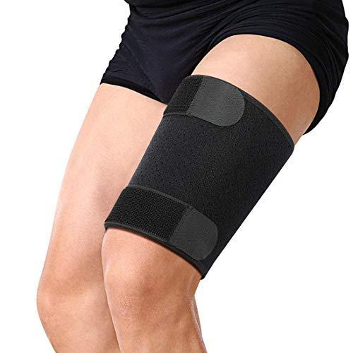 DOACT Tutore Coscia Fascia Regolabile per Uomo Donne, Compressione Muscolari Supporto Protezione...