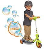 Huffy Kid Toy 6V 2 in 1 Bubble Scooter (Dragons) Toy, Green, 3 - 5 years